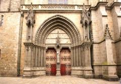 Cathédrale Saint-Pierre - Cathédrale Saint-Pierre de Vannes, dans le Morbihan (France)