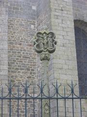 Cimetière - Français:   Cathédrale Saint-Pierre de Vannes (Morbihan, France). Calvaire à proximité du transept nord