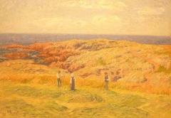 Ancienne cohue - Français:   Henry Moret: Fenaison en Bretagne (1908, huile sur toile, musée des beaux-arts de vannes)