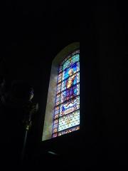 Eglise Saint-Patern - Vitrail de l'église Saint-Patern de Vannes (Morbihan, France): saint Isidore