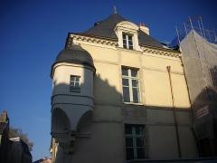 Ancien hôtel de Francheville - Français:   Hôtel de Francheville, à Vannes (Morbihan, France), après rénovation