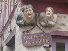 Maison dite de Vannes et sa femme -  Vannes