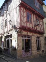 Maison dite de Vannes et sa femme - עברית: בית ואן ואשתו בעיר ואן, צרפת