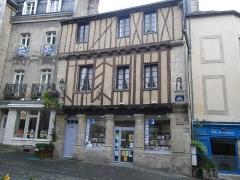 Maison dite de Saint-Vincent -  maison ancienne a vannes