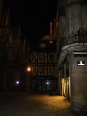 Maison -  vannes la nuit