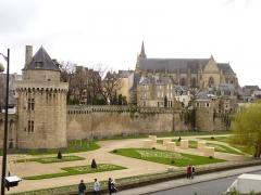 Anciens remparts - Remparts de Vannes