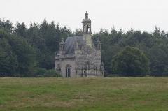 Château de la Grée de Callac (également sur commune d'Augan) - Français:   Château de la Grée de Callac: la chapelle.