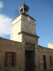 Hôtel de ville et beffroi - Français:   Hôtel de ville d\'Aigueperse