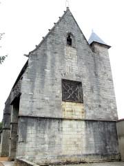 Sainte-Chapelle ou chapelle Saint-Louis - Français:   Aigueperse - Sainte-Chapelle - Façade