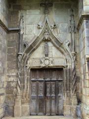Sainte-Chapelle ou chapelle Saint-Louis - Français:   Aigueperse - Sainte-Chapelle - Portail
