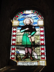 Eglise Saint-Pierre - English: Biollet (Puy-de-Dôme) église vitrail