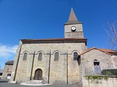 Eglise Saint-Pierre - English: Biollet (Puy-de-Dôme) église vue latérale