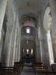 Eglise Saint-Pierre - English: Biollet (Puy-de-Dôme) église, intérieur vers l'autel