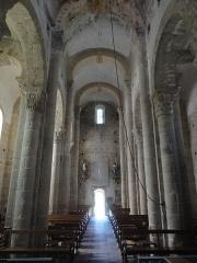 Eglise Saint-Pierre - English: Biollet (Puy-de-Dôme) église, intérieur vers l'entrée