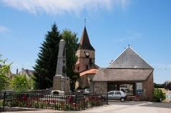 Eglise Saint-Pierre -  Church of Biolet near Clermont-Ferrand