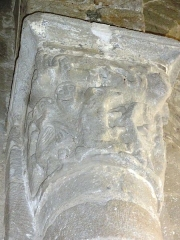 Eglise Saint-Pierre - English: Chapiteaux de l'église Saint-Pierre de Biollet (Puy-de-Dôme) 05