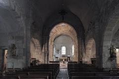 Eglise Saint-Fargheon - Deutsch: Katholische Kirche Saint-Fargheon in Bourg-Lastic im Département Puy-de-Dôme (Auvergne-Rhône-Alpes/Frankreich), Innenraum