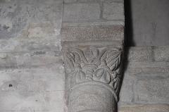 Eglise Saint-Fargheon - Deutsch: Katholische Kirche Saint-Fargheon in Bourg-Lastic im Département Puy-de-Dôme (Auvergne-Rhône-Alpes/Frankreich), Kapitell