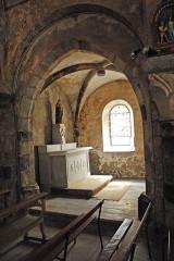 Eglise Saint-Etienne - Deutsch: Dorfkirche Chambon-sur-Lac, Südkapelle