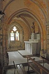 Eglise Saint-Etienne - Deutsch: Dorfkirchen Chambon-sur-Lac, Nordkapelle