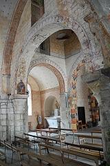 Eglise Saint-Etienne - Deutsch: Dorfkirche Chambon-sur-Lac, Vierung u. südl. Querhausarm