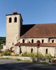 Eglise Saint-Sulpice - Français:   L\'église Saint-Sulpice-le-Pieux de Châteldon, datant du XIIe siècle.