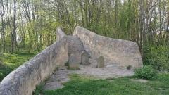 Pont sur la Morge dit Pont Romain -  Pont romain au Cheix