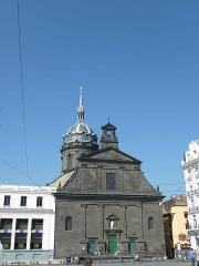 Eglise Saint-Pierre-des-Minimes - English: Church Saint-Peter, front view. Clermont-Ferrand, place de Jaude. Historical monument.