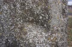 Menhir de Sainte-Anne, de Pierre-Longue ou de Beaulieu, dit borne milliaire - Français:   Menhir de la Grande Borne - Dépression