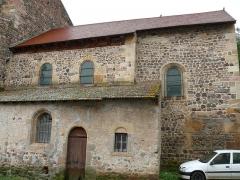 Ancien sanctuaire de Saint-Genes - Français:   Manglieu - Abbatiale Saint-Sébastien - Vue extérieure du choeur