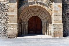 Ancien sanctuaire de Saint-Genes - Français:   France - Auvergne - Puy-de-Dôme - Église Saint-Sébastien de Manglieu