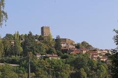 Ruines du château fort - Deutsch:   Montaigut-le-Blanc, eine französische Gemeinde im Département Puy-de-Dôme.