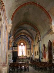 Eglise Saint-Nicolas -  Nonette - Eglise Saint-Nicolas - Nef