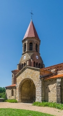 Eglise Saint-Nicolas - English: Saint Nicholas Church of Nonette, Puy-de-Dôme, France