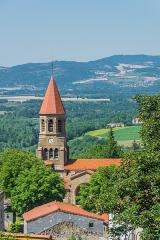 Eglise Saint-Nicolas - English: View of the Saint Nicholas Church of Nonette, Puy-de-Dôme, France