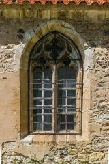 Eglise Saint-Nicolas - English: Window of the Saint Nicholas Church of Nonette, Puy-de-Dôme, France