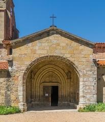 Eglise Saint-Nicolas - English: Portal of the Saint Nicholas Church of Nonette, Puy-de-Dôme, France