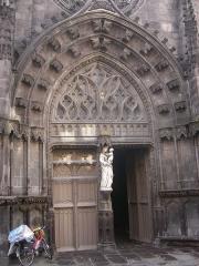 Eglise Notre-Dame du Marthuret -  Riom - Église Notre-Dame-de-Marthuret
