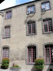 Hôtel de ville -  Riom - Hôtel de ville - Aile nord du 18e siècle