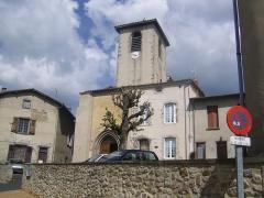 Eglise Sainte-Agathe - Français:   Bourg de Ris (Puy de Dôme)