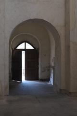 Eglise Sainte-Agathe - Deutsch:   Katholische Pfarrkirche Sainte-Croix, auch Sainte-Agathe, in Ris im Département Puy-de-Dôme (Auvergne-Rhône-Alpes), Portal