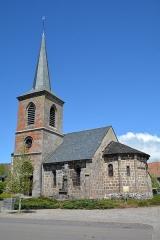 Eglise Saint-Donat - Français:   Eglise de Saint-Donat, Puy de Dome, Auvergne, France