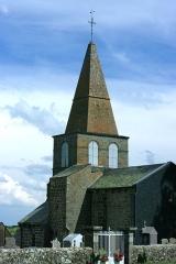 Eglise Saint-Victor - Français:   Vue de l\'église de Saint-Victor-la-Rivière.