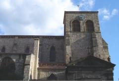 Eglise Saint-Genès -  Église Saint-Genès (vieille ville de fr:Thiers)