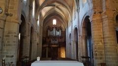 Eglise Saint-Genès - Français:   Intérieur de église Saint-Genès de Thiers en Auvergne.