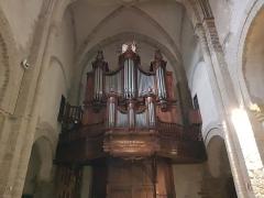 Eglise Saint-Genès - Français:   Orgue de l\'église Saint-Genès de Thiers