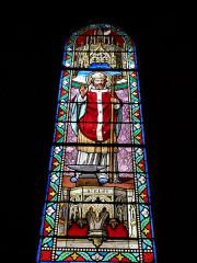 Eglise Saint-Genès - Français:   Vitraux église Saint-Genès Saint-éloi