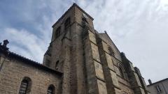 Eglise Saint-Genès - Français:   L\'église saint-genès à Thiers