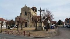 Eglise Saint-Limin (ou Saint-Martin) -  Église Saint-Martin de Thuret dans le Puy-de-Dôme.