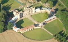 Château de Villemont - Français:   Vue aérienne 2012